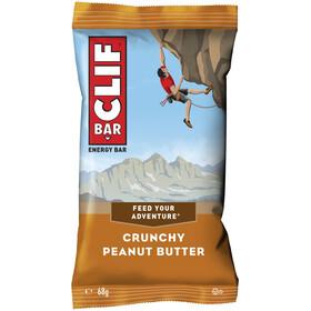CLIF Bar Boîte Barres énergétiques 12 x 68g, Crunchy Peanut Butter